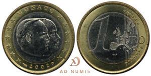 1 euro Monaco 2002 UNC