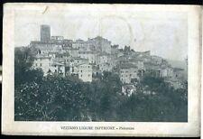 1930 - Vezzano Ligure Inferiore - Panorama