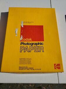 "Kodak Kodabromide Paper 11x14"" F-2 Open Box #25"