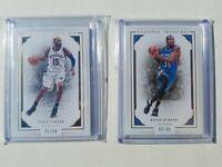 2015-16 National Treasures Basketball 14 Card Lot (Westbrook, Durant, Ibaka,...
