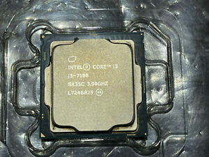 Intel Core SR35C i3 7100 7th Gen Core Desktop Processor 3M Cache 3.90 GHz CPU