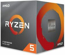 AMD Ryzen 5 2600 up to 3.9 GHz Desktop Processor with Cooler YD2600BBAFBOX