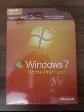 Microsoft Windows 7 Home Premium 32 / 64bit Upgrade Box deutsch DVD GFC-00238