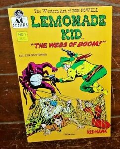 "Lemonade Kid #1, (1990, AC Comics): ""The Webs of Doom!"""