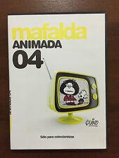 MAFALDA ANIMADA VOL 4- COLECCIONISTAS - 1 DVD PAL 2 - SLIMCASE - QUINO - PUBLICO