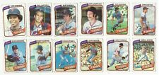 VINTAGE 1980 TOPPS Major League Baseball CARDS – Minnesota Twins-MLB