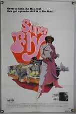 SUPERFLY FF ORIG 1SH MOVIE POSTER RON O'NEAL BLAXPLOITATION (1972)