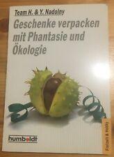 Geschenke verpacken mit Phantasie und Ökologie,  Buch