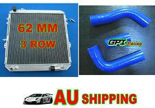 3core aluminum radiator toyota  Surf HILUX LN106 LN111 Diesel 88-98 AT/MT + hose