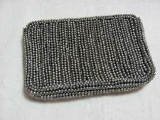 Beaded Hand Purse Signed Garay Made in Taiwan - Two Compartment