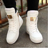 Men's Casual High Top Sport Sneakers Athletic Running Lace Up Shoes