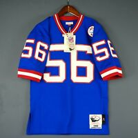 100% Authentic Lawrence Taylor Giants Mitchell Ness NFL Jersey Size Mens 48 XL
