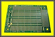 "Proto PCB, Prototyping Circuit Board,  PT-35X25,  3.5"" x 2.5"",  (Quantity 1)"