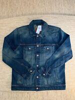Men's Abercrombie A&F Denim Jacket Size Large Vintage Medium Wash - New With Tag