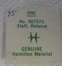 Vintage Hamilton Watch Balance Staff 607573