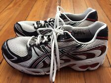 Hardly Worn! Asics Gel-Nimbus 11 Men's Running Shoes - White/Red - Sz 9.5