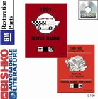 1991 Chevrolet Corvette Shop Service Repair Manual CD Engine Dirvetrain Wiring