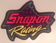 Snap On Tools Collectable Racing Iron On Patch Early 90s Colorful Antique Lmtd