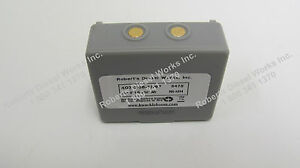 Grey Hetronic 3.6 volt Battery. Radio Remote Replacement Battery.