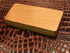 Solid Maple Maxi Pen Box case perfect for personalizing