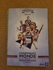 2018 Francia campeonatos del mundo indoor de Atletismo guía de medios de equipo