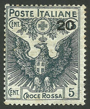 ITALY, RED CROSS, YEAR 1916, MINT HINGED