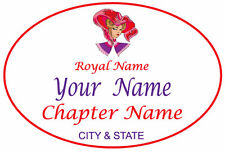 #5 tag Personalized MAGNETIC NAME BADGE TAG FOR THE RED HAT LADIES OF SOCIETY