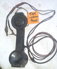 VINTAGE BELL SYSTEM TEST SET DIAL LINESMANS PHONE (T101)
