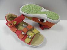 Chaussures NOEL mini xoti orange FILLE taille 20 sandales enfant girl shoes NEUF