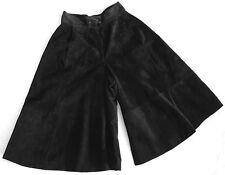 Wadenlange schwingende Damenröcke aus Leder für die Freizeit