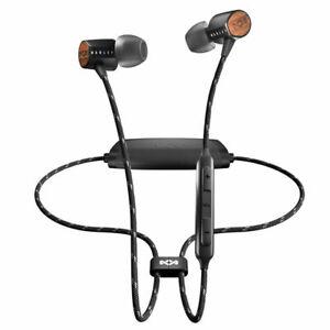 House of Marley Uplift 2 Wireless Earphone w/Microphone f/ iPhone/Samsung Black