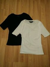 Polyester Basic T-Shirts for Women , with Multipack
