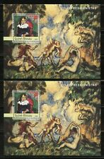 GUINEA BISSAU 2003 IMPRESSIONISTS  LOT OF TWO  SETS OF FOUR SOUVENIR SHEETS NH
