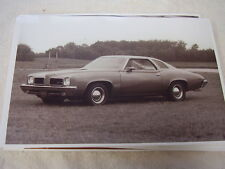 1973  PONTIAC  GTO  11 X 17  PHOTO  PICTURE