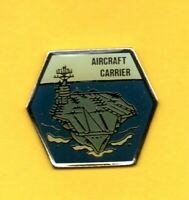Pin's lapel pin pins Bâtiment militaire Military porte-avions Aircraf CARRIER
