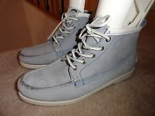 Ronnie Fieg by Sebago Suede Leather Docksides, Booties, Flats,Women's 10M, Blue