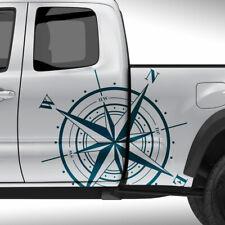 Auto Aufkleber Set Kompass Windrose Offroad Sticker Dekor Seitendekor #1375-80