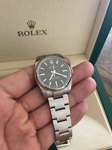 Rolex Oyster Perpetual 34 BLACK
