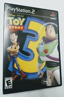DISNEY PIXAR Toy Story 3 (Sony PlayStation 2, PS2) Complete W/ Manual VG