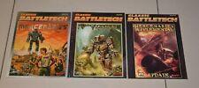 Classic Battletech Mercenaries Supplemental Collection Lot Set Bundle 3 Books