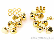 NEW Grover LOCKING GOLD TUNERS 3x3 for Gibson Les Paul SG Lockers TK-7935-002