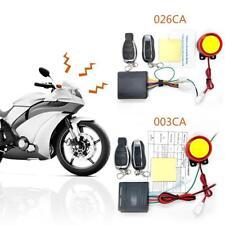 12V Motorrad Alarmanlage Motorstart mit 2 Funkfernbedienung Für Roller Moped DE
