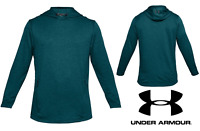 UA Under Armour Men's French Terry Fitted Hoodie Sizes: S, M Teal Green