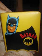 VINTAGE 1966 BATMAN 3-RING BINDER - DC COMICS MATTEL - VGC