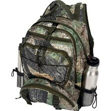 "Heavy Duty TREE CAMO 17"" BACKPACK DAY PACK Water Resistant Bug Out Bag Military"