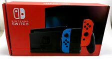Nintendo Switch Console with Neon Red and Neon Blue Joy-Con-Damaged Box-New