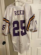 LSU Josh Reed Auutographed Jersey