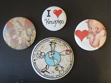 VINTAGE KEWPIE PINS   LOT OF 4    MINT