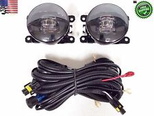 LED Fog Light Set for 04-07 Ford Honda Nissan Acura Subaru Suzuki Jaguar White