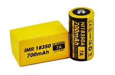 NITECORE IMR 18350 Rechargeable  Battery 700mAh - For Nitecore EC11 Flashlight